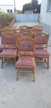 Krzesła holenderskie dębowe