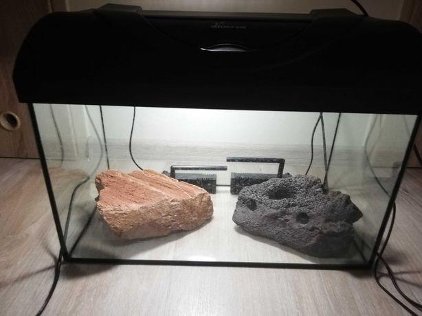 Akwarium z pokrywą 35l