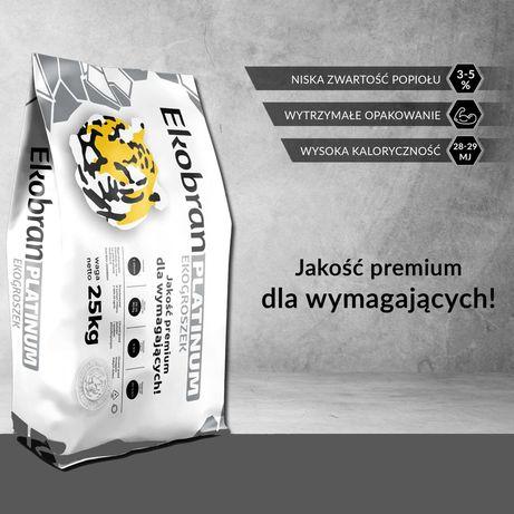 EKOBRAN PLATINUM  28 - 29 MJ/kg ekogroszek NOWOŚĆ!!!