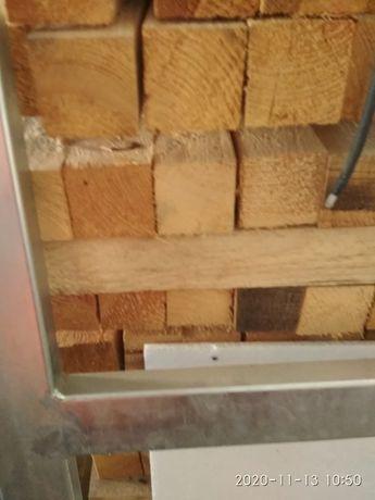 Kantowki drewno łaty 6cmx6cm belki drewniane profile