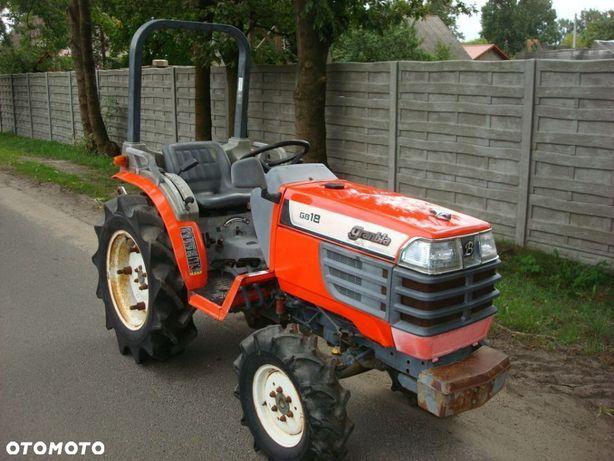 Kubota GB 18 DT 4x4 mini traktorek Japoński ogrodniczo - sadowniczy