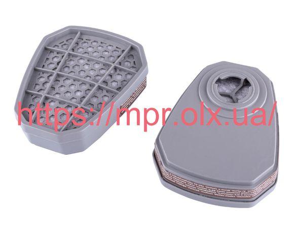 Фильтр угольный сменный А1 для респиратора Химик и 3М Vita DR-0047