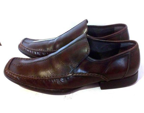 Стильные кожаные мужские туфли лоферы CLARKS, р.43 код m4301