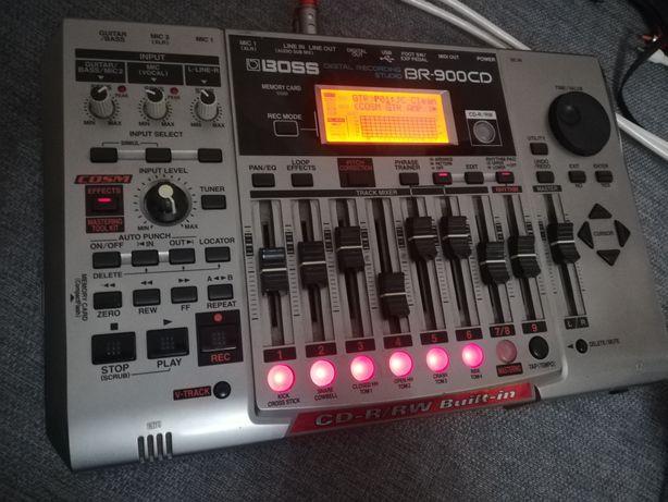 Rejestrator Boss Br-900CD studio cyfrowe