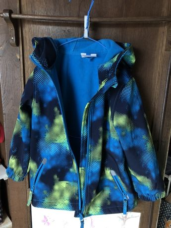 Softshell kurtka przejściowa 104 dla chłopca dziewczynki wiatrówka