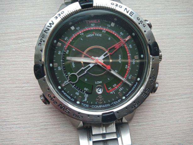 Zegarek żeglarski Timex Expedition Tide Compass używany stan dobry