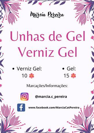 Unhas Gel/Verniz Gel