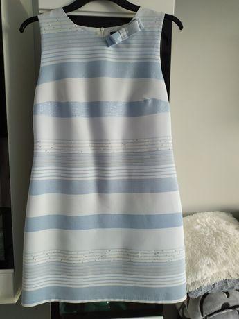 Sukienka błękitna