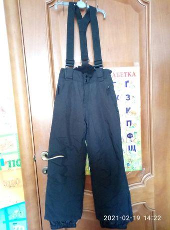штаны, брюки,полукомбинезон, утепленные,8лет