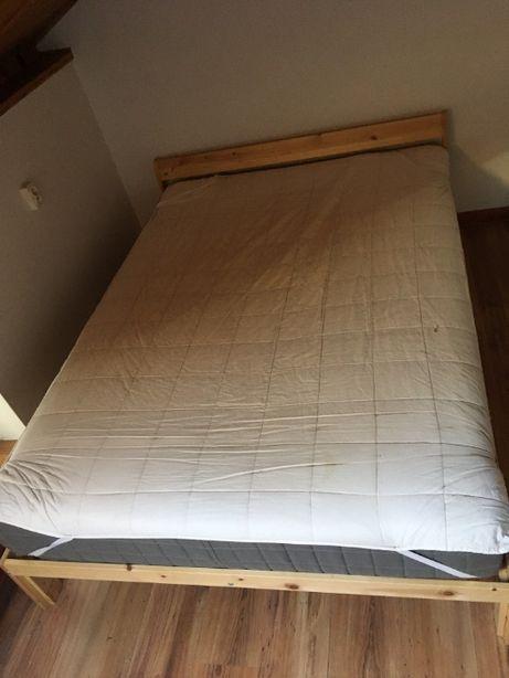 Łózko IKEA z materacem Hovag 140 x 200