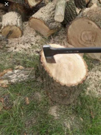 Drewno drzewo kominkowe dębowe dąb opał .