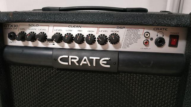 CRATE GTX 30 комбик (комбоусилитель для электрогитар на 30Вт.)