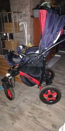 Wózek 3x1 Camarelo Carrera