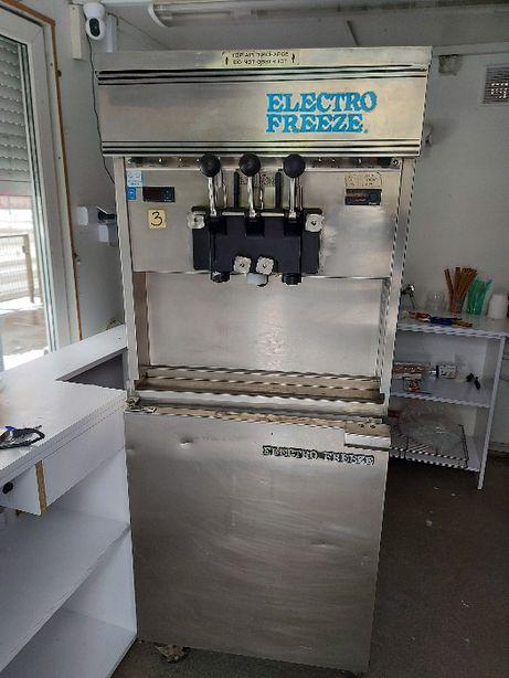 Automat do lodów Electro Freeze świderki. Chłodzona wodą