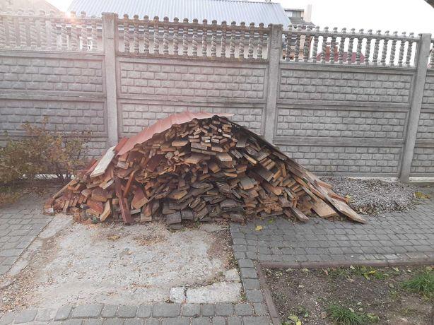 Дрова, відходи із старого та нового дерева