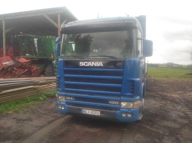 Scania 124 PDE retarder mała kabina hydraulika
