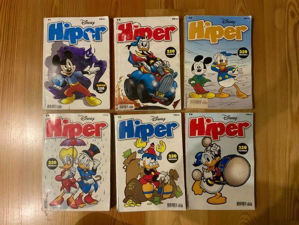 Hiper, Big e Especial - Banda desenhada da Disney