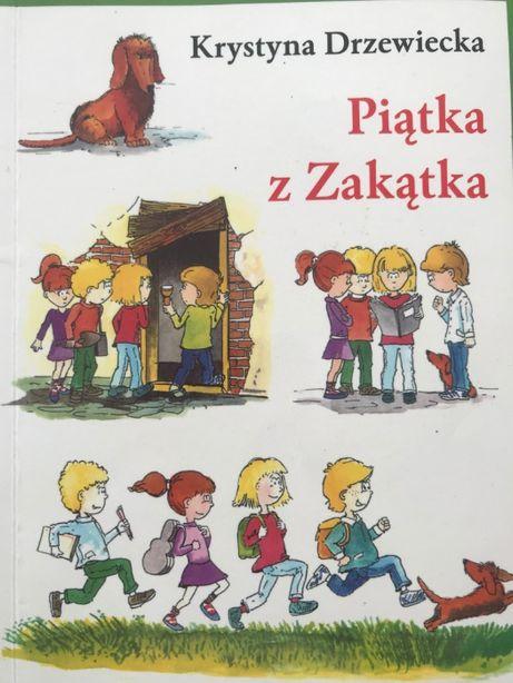 Piątka z zakątka - K. Drzewiecka, lektura