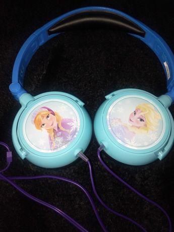 Słuchawki frozen Anna i Elza