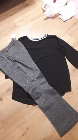 spodnie z bluzka