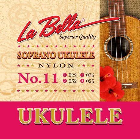 struny LA BELLA do ukulele No.11