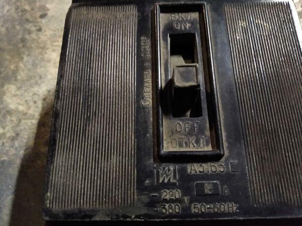 Автомат, пакетник 220-380в 15 а сделано в СССР