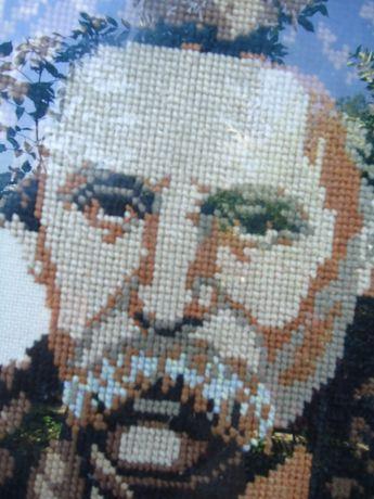 Вишивка Портрет Шевченка 50-60 -ті роки