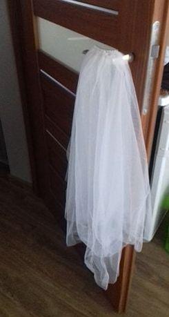 Welon krótki biały dwuwartsowy