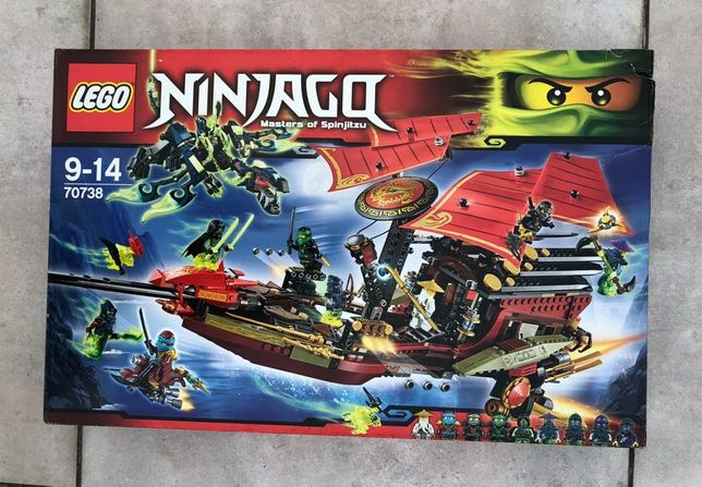 LEGO Ninjago Ostatni lot Perły 70738
