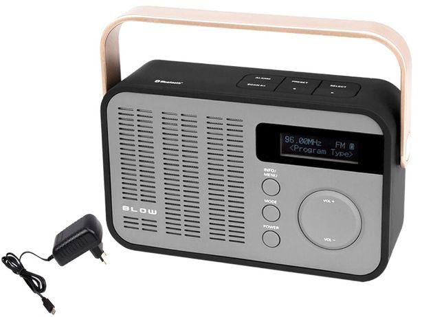 RADIO FM Cyfrowe DAB+ Głośnik BLUETOOTH SD USB Play MP3 Przenośne FV