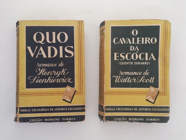 2 livros - Henryk Sienkiewicz / Walter Scott