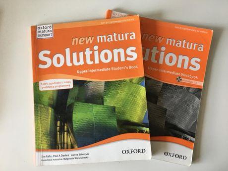 New Matura Solutions Upper-Intermediate (podręcznik + ćw.)