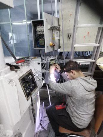 Elektryk , usługi elektryczne Instalacje  domowe i przemysłowe