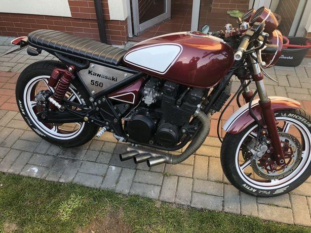 Kawasaki 550 Zephyr cafe race