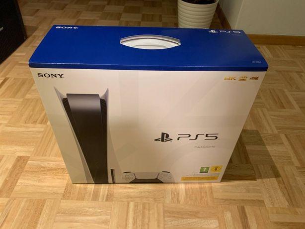 Официал Playstation 5 с дисководом новая на гарантии