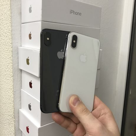 iPhone X 256 gb silver/space gray neverlock, Trade-in/гарантия/рассроч