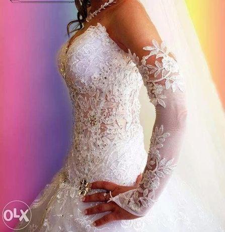 Ексклюзив! Сукня плаття весільне (платье свадебное) стрази Swarovski