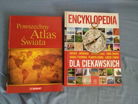 encyklopedia i atlas świata, razem taniej