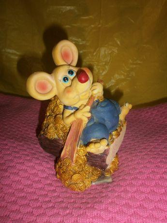 Копилка мышки б.у