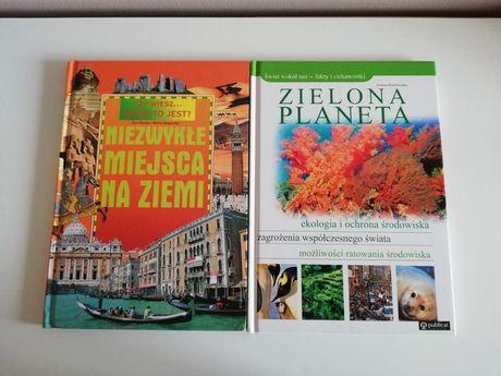Zielona Planeta Niezwykłe Miejsca na Ziemi książki przyrodnicze