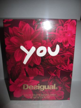 Perfumy Desigual You Woman woda toaletowa 100 ml