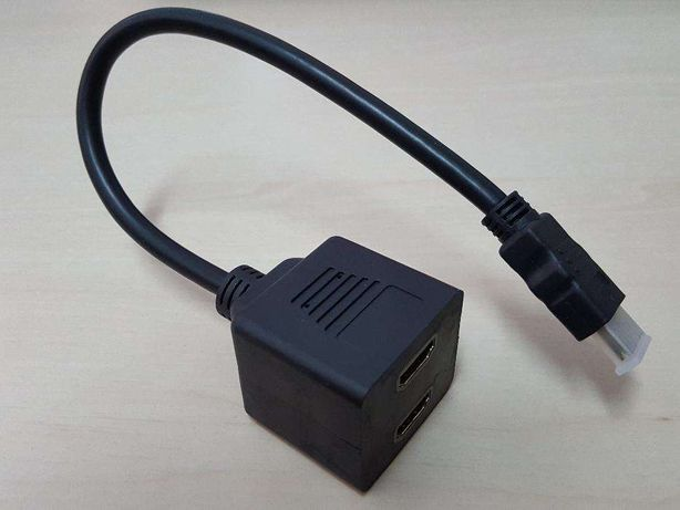 U018 Cabo HDMI Switch / Splitter Ligue 2 TV a PC/DVD