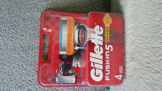 Gillette Fusion5 Power 4szt.