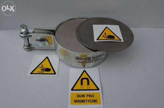 Magnes neodymowy w uchwycie do poszukiwań 80x30 N38 magnesy neodymowe