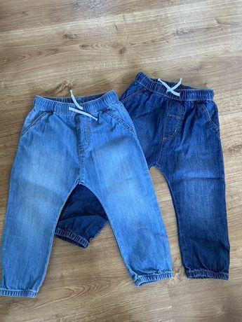 Spodnie dzinsowe H&M r 92