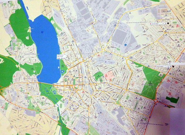 Подробная карта г. Тернополя