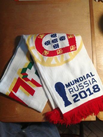 Cachecol Futebol Mundial Russia 2018 novo, embalado