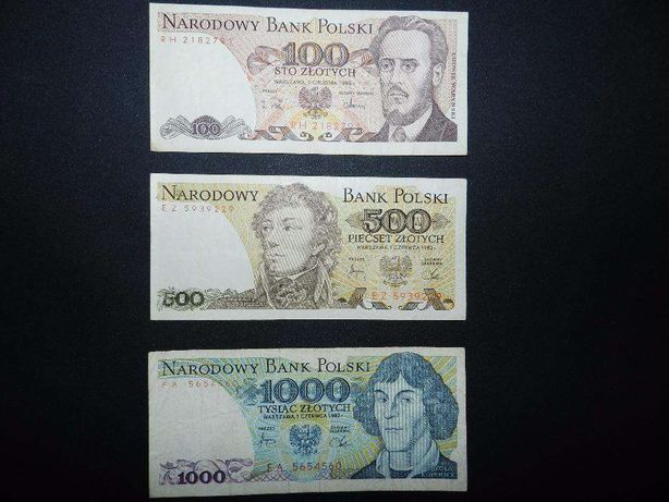 Stare banknoty NBP