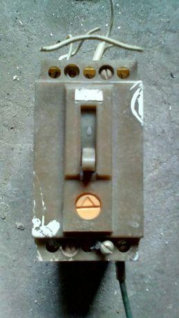 Автоматический выключатель(380V) СССР