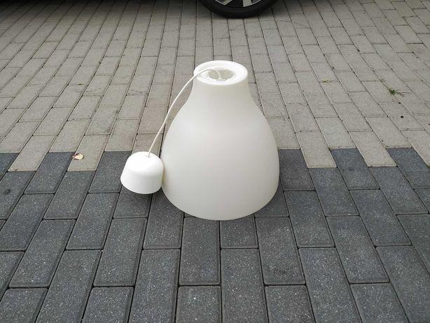 Lampa wisząca biała IKEA Typ T0618 Melodi E27 Max 75W